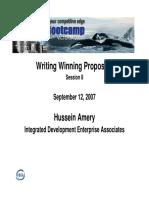AmeryHussein_WritingSuccessfulProposals.pdf