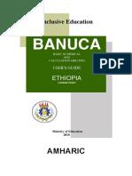 Banuca-UsersGuide-Eng Amharic Ethiopia v120208
