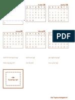 GT Calendar