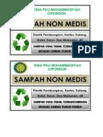 SAMPAH NONMEDIS