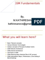 16631742 Basics of Gsm by Kathiresanm Iws