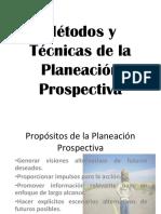 Métodos y Técnicas de La Planeación Prospectiva
