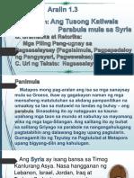 Ang Tusong Katiwala-Parabula