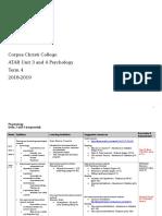 course outline t4 2018