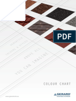1.Colour Charts Gerard 61560