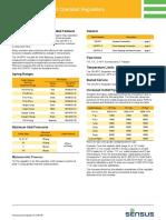 File-Sensus Model 243 Regulator