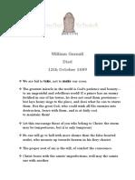 William Gurnall - 12th October 1689