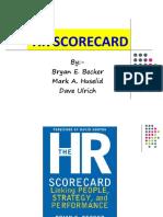 Final Hr Scorecard