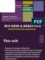 Big Data Analytics Opportunities and Challenges
