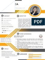 Curriculum Vitae Ruth Mujica in English