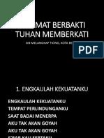 Lirik Lagu Lawatan Kg Piasau, Kota Belud.