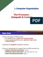 Lecture 9 COMP2611 Processor Part1