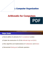 Lecture 7 COMP2611 Arithmetic Part1
