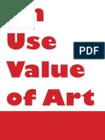 On_Use_Value_of_Art