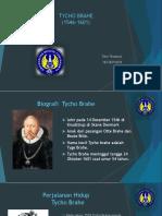 Ppt Tycho Brahe