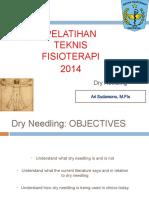 Pelatihan Dry Needle