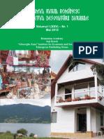 Turism rural - volumul I nr 1.pdf