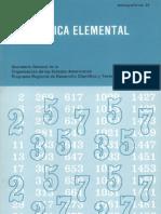 Aritmática elemental