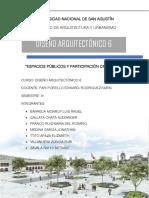 Monografía espacios publicos