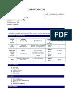 Siddu Resume