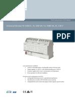 Universal Dimmer N554D31_ Siemens Gamma