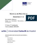 Manual Practicas 1 2 ED GIEIA 1819