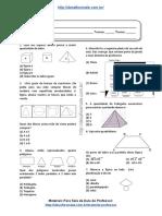 Simulado/atividade 16 de Matemática para 4º e 5° ano
