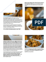Pollo a la naranja | Cocina Thai