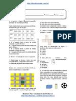 Simulado/atividade 14 de Matemática para 4º e 5° ano