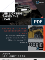 LED Lights are taking lead in Automobile Industry