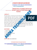 Intelligent Maximum Power Tracking and Inverter Hysteresis Current Control of Grid-connected PV Systems