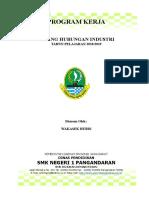 Cover & Lbr Pengshan Prog Kerja.doc