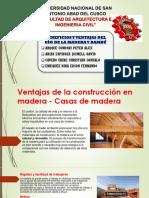 Ventajas de La Construcción en Madera y Bambu
