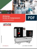 Lubricated Screw Compressor