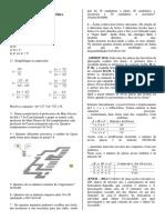Análise Combinatória - Exercícios Texto