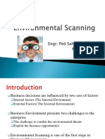 Env Scanning Lecture