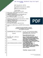 Quinn Emanuel & Sullivan and MATTEL accused of Racketeering Criminal Enterprise
