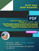 pijat bayi  D.IV
