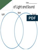 sources of light and sound venn diagram