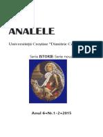 aucdci, an 6, nr. 1-2, 2015