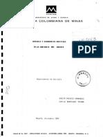 Geologia y Ocurrencias Auriferas en La Comisaria de Guainia 1
