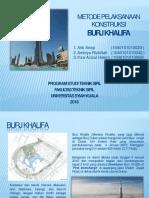 Power Point Burj Khalifa