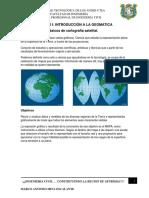 Capitulo I Introduccion Ala Geomatica