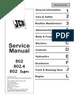 JCB 802.4 MINI EXCAVATOR Service Repair Manual SN(732450 to 732999).pdf