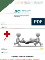 RCP y Primeros Auxilios