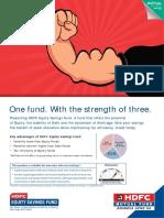 HDFC Equity SavingsFund Leaflet 28June18