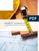171962ot Elizabeth Road and Barrett Crescent- Construction Method Statement