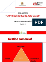 Sesion 9. Gestion Comercial