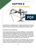 Questionnaire Design Chap8