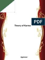 Theory of Karma